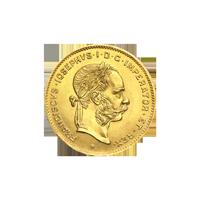 1892 Franz Joseph I 10 Franc Austrian Gold Coin