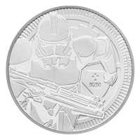 Stars Wars | Moneda de plata Clone Trooper 2019 de 1 oz
