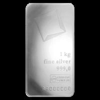 1 kg | Kilo Silberbarren Valcambi