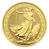 1 oz 2019 Britannia Oriental Border Gold Coin
