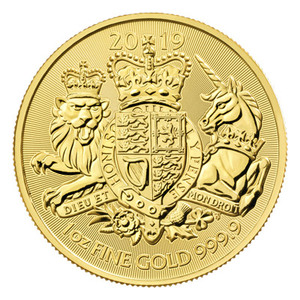 1 oz 2019 The Royal Arms Gold Coin