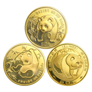 1/2 oz Random Year Chinese Panda Gold Coin