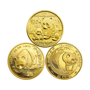 1/4 oz Random Year Chinese Panda Gold Coin
