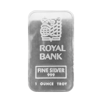 1 oz Johnson Matthey Royal Bank of Canada Silver Bar