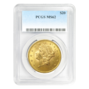 Random Year $20 Liberty Double Eagle MS-62 Gold Coin
