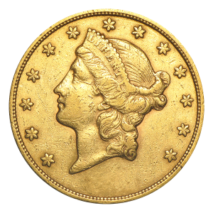 Random Year $20 Liberty Double Eagle VF Gold Coin