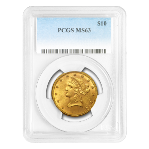 Random Year $10 Liberty Eagle MS-63 Gold Coin
