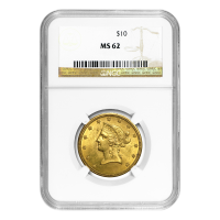 Random Year $10 Liberty Eagle MS-62 Gold Coin