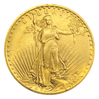Random Year $20 Saint-Gaudens Double Eagle XF Gold Coin