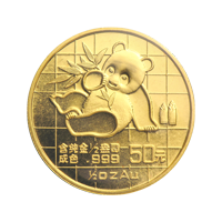 1/2 oz 1989 Chinese Panda Gold Coin