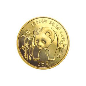 1/4 oz 1986 Chinese Panda Gold Coin