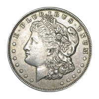 1878 - 1904 Morgan VG+ Silver Dollar