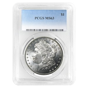 1878 - 1904 Morgan PCGS MS-63 Silver Dollar