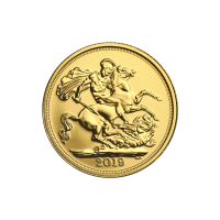 Goldmünze Sovereign Royal Mint 2019