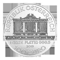 1 أوقية 2019 عملة بلاتينية لأوركسترا النمساوية