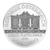 1 oz 2019 Austrian Philharmonic Platinum Coin