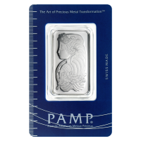 1 oz PAMP Suisse Platinum Bar