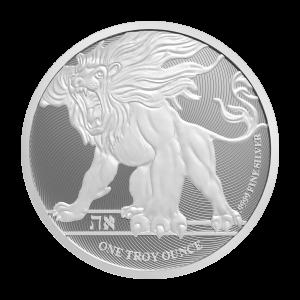 Moneda de plata León Rugiente Niue 2019 de 1 onza