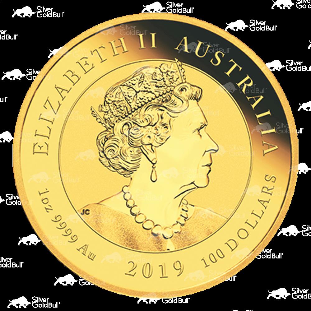 2019 1 Oz PROOF Nieu $1 DIAMOND 50Th ANNIV Of The Moon Landing Coin.