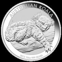 10 oz 2012 Australian Koala Silver Coin