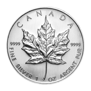 1 oz 2007 Canadian Maple Leaf Silver Coin