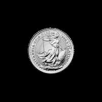 Moneda de platino Britannia 2018 de 1/10 oz