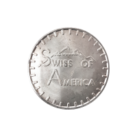 1 oz 1973 Swiss of America Silver Round