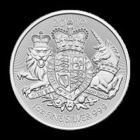 1 oz Silbermünze - Die königlichen Wappen - 2019