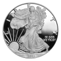 1 oz 2011 American Eagle Proof Silver Coin