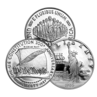 Random Year $1 U.S. Commemorative Silver Dollar