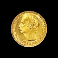 Moneda de oro 20 Coronas de Dinamarca de año aleatorio