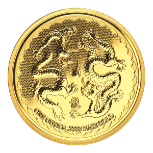 1 oz 2018 Niue Double Dragon Gold Coin
