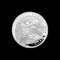 1/2 oz armenische Silbermünze - Arche Noah - 2019