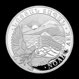 1 oz armenische Silbermünze - Arche Noah - 2019
