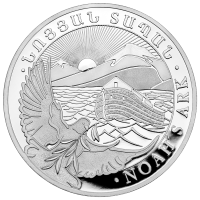 5 oz armenische Silbermünze - Arche Noah - 2019