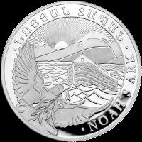 1 kg | kilo 2019 Armenian Noah's Ark Silver Coin