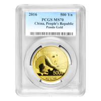 30 gram 2016 Chinese Panda PCGS MS 70 Gold Coin