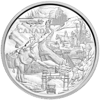 1 kg | kilo 2010 Banff National Park 125th Anniversary Silver Coin