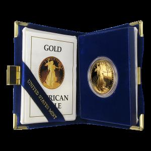 1 oz Random Year American Eagle Proof Gold Coin