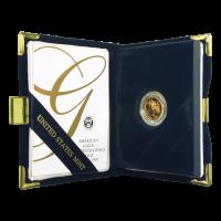 Pièce d'or de qualité épreuve numismatique Aigle américain d'année aléatoire de 1/10 once