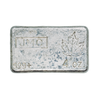 4 oz Johnson Matthey Vintage Silver Bar