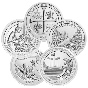 5 oz Random Year America the Beautiful Silver Coin