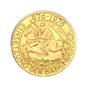 Random Year Austrian 1000 Schillings Gold Coin