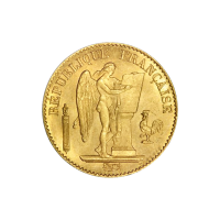 Random Year 20 Franc Lucky Angel Gold Coin