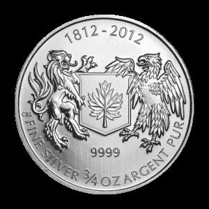 3/4 oz 2012 War of 1812 Silver Coin