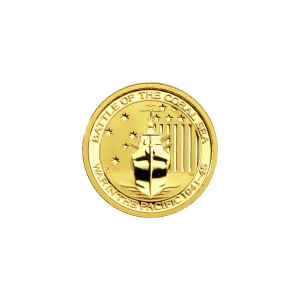 1/10 oz Battle of the Coral Sea Gold Coin