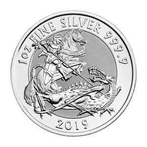 1 oz 2019 Royal Mint Valiant Silver Coin
