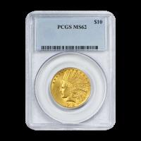 $10 Goldmünze Indianer Adler - MS-62 - Zufallsjahr