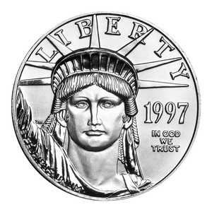 1 oz 1997 American Eagle Platinum Coin
