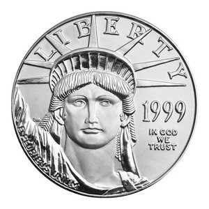 1 oz 1999 American Eagle Platinum Coin